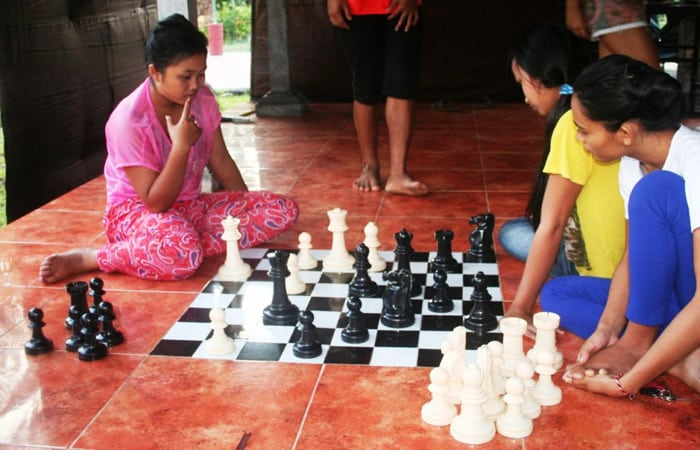 vrijwilligerswerk bali schaken